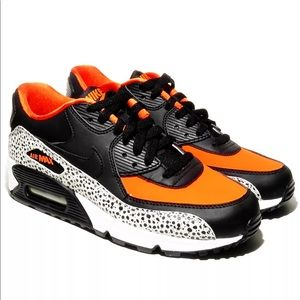 Nike Air Max 90 Safari Pack GS Bog Boys 6.5Y